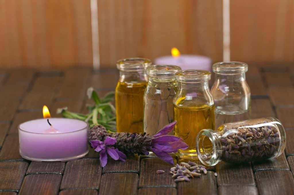 homemade spa ingredients